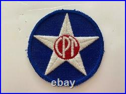 Pk519 Original WW2 US Army Air Force Civilian Pilot Training Program CPT WB11