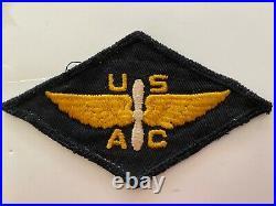 Pk527 Original WW2 US Army Air Corps Flying Cadet Patch Blue WB9
