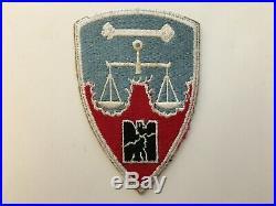 Pk52 Original WW2 US Army Nuremberg War Crimes Trials Staff Personnel WC10