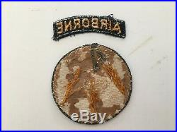 Pk63 Original WW2 US Army 21st Airborne Division Ghost Division Patch Set WC11