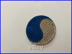 Pk657 Original WW2 US Army 29th Infantry Division Blue And Gray No Border WC10