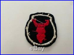 Pk671 Original WW2 US Army 34th Infantry Division Patch Theater Made WC10
