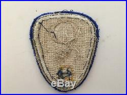Pk70 Original WW2 US Army Manhattan Project A Bomb Patch Theater Made WC11