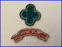 Pk816 Original WW2 US Army 88th Infantry Division Patch With Blue Devil Tab L2B