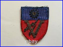 Pk873 Original WW2 US Army CBI China Burma India 5th BN 1st Provisional Gp L2B