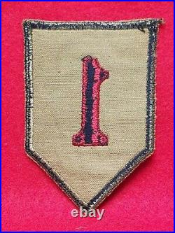 Post-WW1 Pre-WW2 Us Army 1st Infantry Division Uniform Patch