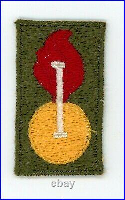 Post WW2 WWII US Army Ordnance Intelligence patch (Korean War era) Rare and Neat