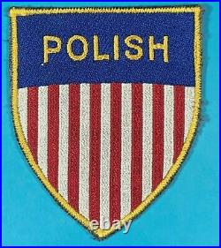 Post WW 2, Labor Service for a Polish Working for US Army, FE, Exc. Cond, #1