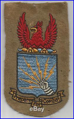 Pre WW 2 US Army Air Force Southeast Training Command Wool 5-1/4 Patch Inv#H790