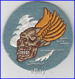 RARE WW 2 US Army 12th Air Force 85th Fighter Squadron Patch Inv# JQ242
