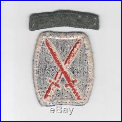 Rare 1st Design WW 2 US Army 10th Mountain Patch & Italian Made Tab Inv# H918