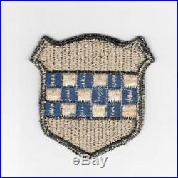 Rare Black Border WW 2 US Army 99th Infantry Division Patch Inv# H714