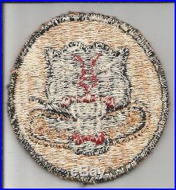 Rare Factory 6 Wheel Off Uniform WW 2 US Army Tank Destroyer Patch Inv# K094