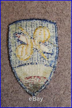 Rare Original WW2 U. S. Army 96th Chemical Mortar Battalion Uniform Patch