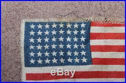 Rare Original WW2 U. S. Army Paratrooper Airborne 48 Star Cloth Jump Jacket Flag