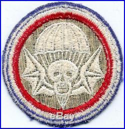 Rare Original WW 2 US Army 502nd Parachute Infantry Regiment Patch Inv# X042
