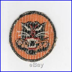 Rare REVERSED CANNON 8 Wheel WW 2 US Army Tank Destroyer Patch Inv# J766