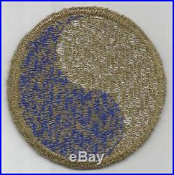 Rare Reversed WW2 US Army 29th Infantry Division Patch Greenback Inv# A559