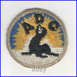 Rare Silver Border WW 2 US Army Alaska Defense Command Patch Inv# M040