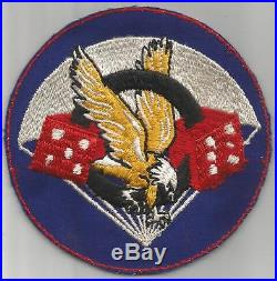 Rare Unfinished WW 2 US Army 506th Parachute Infantry Regiment Patch Inv# K574