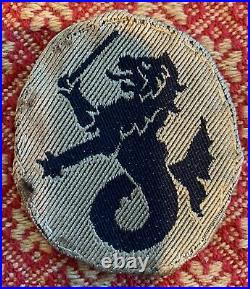 Rare Variant WW 2 US Army 12th Philippine Division Patch