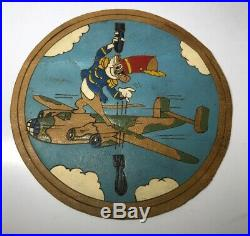 Rare WW2 WWII US Army Air Force Patch 485th Bomber Group Disney