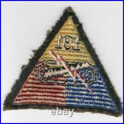 Rare WW 2 US Army 191st Tank Battalion Wool Patch Inv# F640