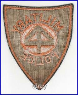 Rare WW 2 US Army 44th Infantry Division Military Police Patch Inv# R647
