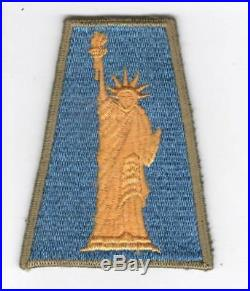 Rare WW 2 US Army 77th Infantry Division OD Border Patch Inv# C447