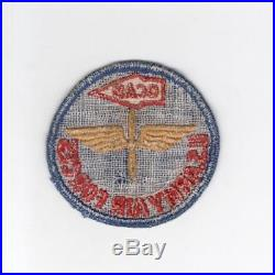 Rare WW 2 US Army Air Forces Oklahoma City Air Depot Twill Patch Inv# G138
