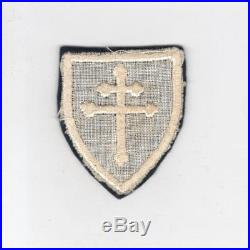 Rare White & Black WW 2 US Army 79th Infantry Division Wool Patch Inv# G743