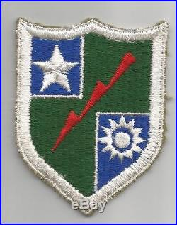 Rare with copies of origin WW 2 US Army Merrill's Marauders Patch Inv# G629