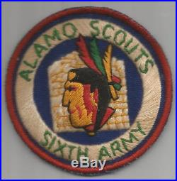 Read Discription Luzon Made WW 2 US Army 6th Army Alamo Scouts Patch Inv# JR682