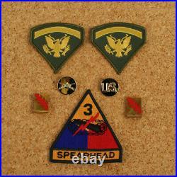 Replica US Military Presley Elvis GI Blues Badge Set
