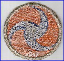 Reversed Propeller WW 2 US Army Air Force GHQ OD Border Patch Inv# CA148