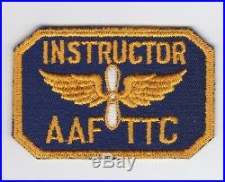 Technical Training Command Ttc Instructor Us Army Air Force Patch Wwii Ww2 Twill