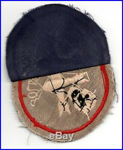 Theater Made 400th Bomber Squadron 90th Bomb Group Wwii Us Army Air Corps Patch