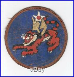 Theater Made 4 WW 2 US Army Air Force Leather 14th Air Force Patch Inv# L088