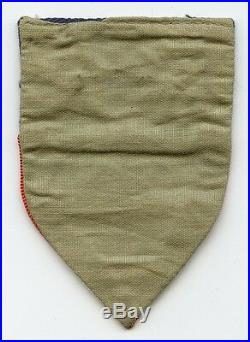 Theater-Made WWII US Army CBI Shoulder Patch in Twill and Silk