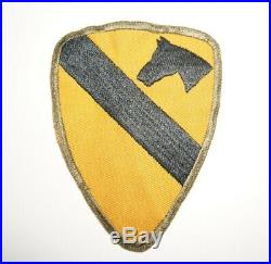 Twill 1st Cavalry Division Patch WWII US Army C1498