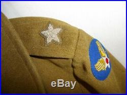 U3B-114 WW 2 US Army Air Force Brigadier General Short Overcoat doeskin AAF 1941