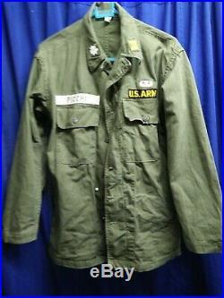 US ARMY WW2 WWII FIELD JACKET Original Period Item Uniform PATCH GENUINE RARE