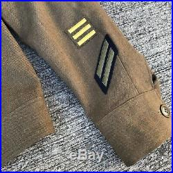 US Army 20th Air Force Ike Jacket WWII WW2 Patches 34