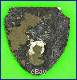 US Army 9th Air Force Theater-Made Bullion Patch Original WW2 WWII
