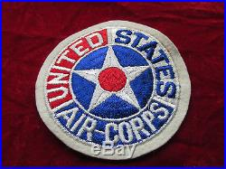 US Army Air Corps Patch Fully Embroired attached tab withstore tag PX Style AAF