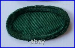 US Army Airborne WW2 Original 11th Airborne Division Recon Jump Wing Oval Patch