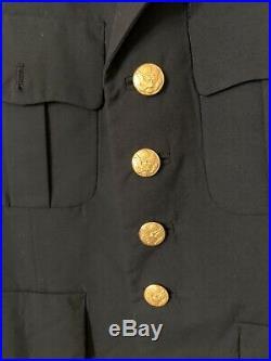 US Army Gold Eagle SPC Specialist Uniform Jacket WWII