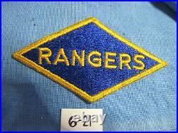 US Army Original vintage ww2 wwii RANGERS DIAMOND no glow D-DAY shoulder PATCH