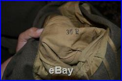 US Army WW2 US Forces Middle East Bullion Patched Uniform