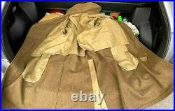 /US Army ww2 Wool Coat 40 L, 2nd Army patch, 1940s